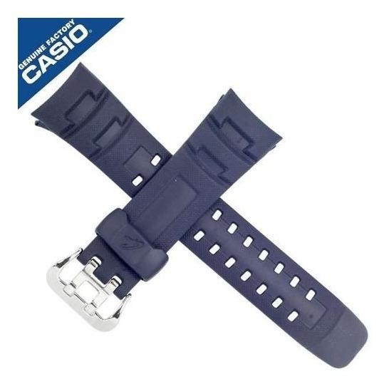 Pulseira Casio G-7600 -2v G-shock Resina Azul Peça Original