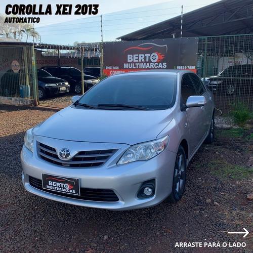 Toyota Corolla Xei 2013 Prata