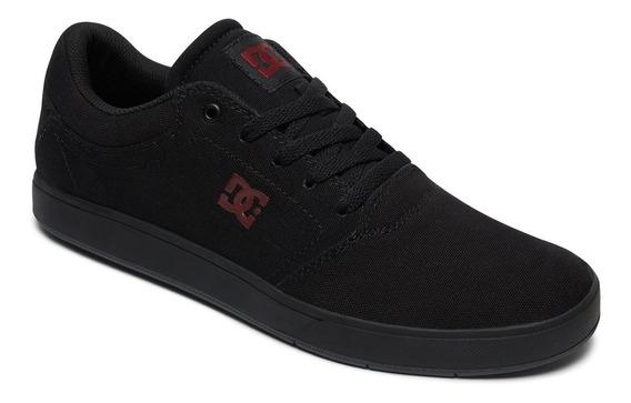 Tenis Casual Hombre Crisis Adys100463-bkd Negro Dc Shoes