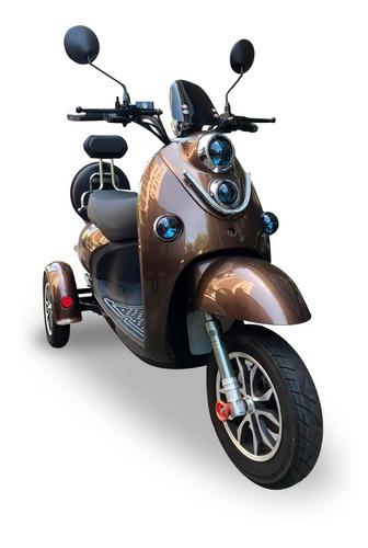 Moto Eléctrica Dinamoto Mod Ñandú 3r. 0km. Envíos A Todo Uy
