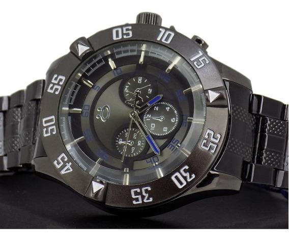 Relógio Masculino Original Black Edition, Barato Promoção