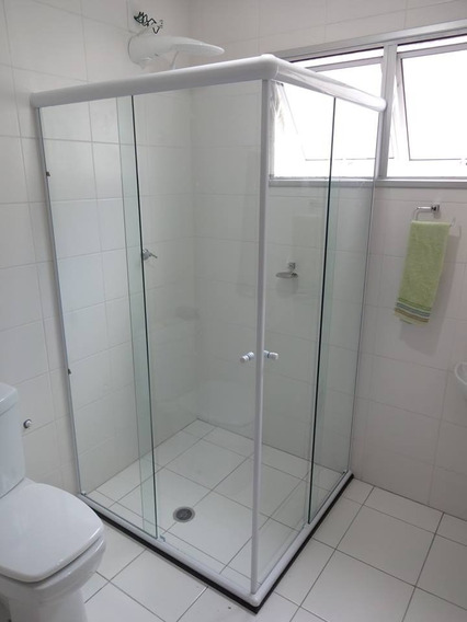 Box Para Banheiro,vidro Temperado 8mm Incolor Blindex (m²)