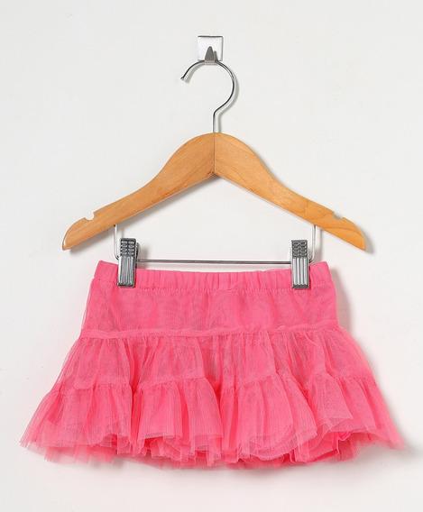 Saia De Tule Pink Tip Top / Princesa / Bailarina