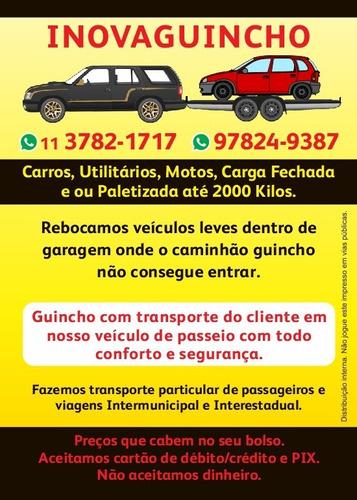 Guincho, Reboque De Veículos, Motos E Cargas Fechadas