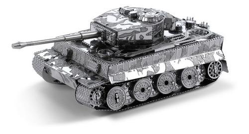 Tanque Tigre Rompecabezas Metálico 3d En Stock! Envío Ya!