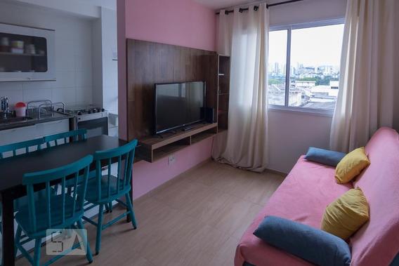 Apartamento No 6º Andar Mobiliado Com 1 Dormitório - Id: 892983772 - 283772