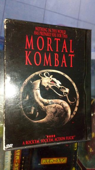 Dvd Vintage Mortal Kombat Película Primer Edición Doble Lado