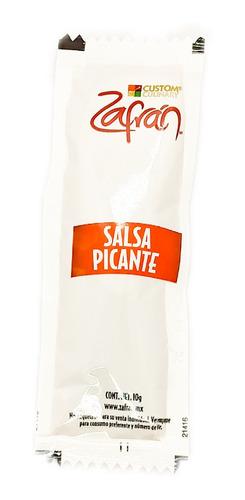 Salsa Picante Zafran ( Chile Cayenne) 1000 Sobres 10g C/u