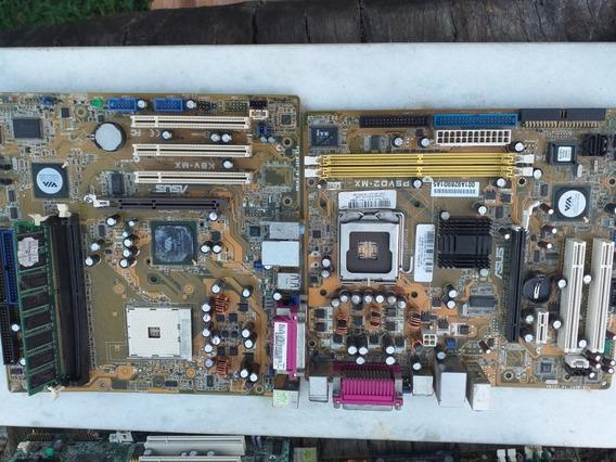 Placa De Computador Sucatas Para Peças Lote 4 Unidades Leia