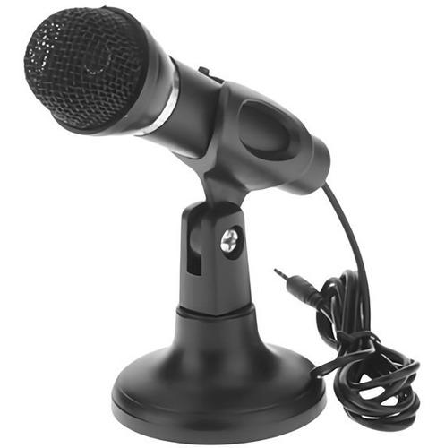 Microfono Pc Windows Mac C/pie Y Boton De Encendido Y Jack ®