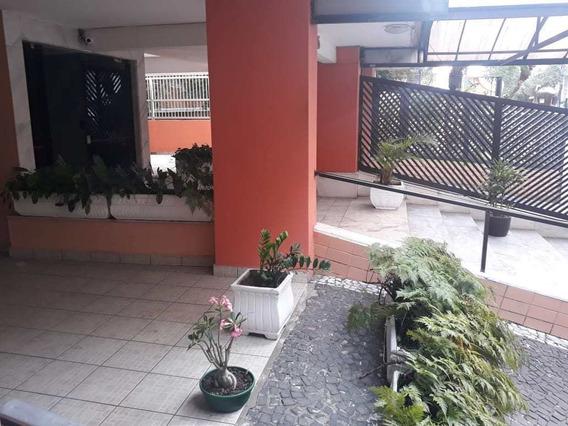 Apto 2 Dorms Com Piscina, Centro, São Vicente - R$ 310 Mil - V3247