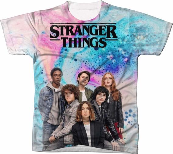 Camiseta Camisa Blusa Stranger Things Seriado 0005