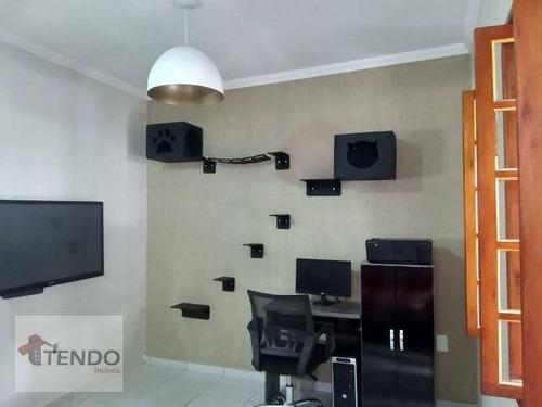 Imagem 1 de 21 de Casa Com 2 Dormitórios À Venda, 75 M² Por R$ 310.000,00 - Jardim Hubert - Indaiatuba/sp - Ca0466