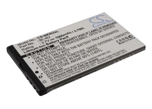 Bateria Nokia Bl-4u Star C6000 C6000 Wifi Blu N4u85t