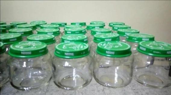 10 Potes De Papinha Nestle 120g (vazio)