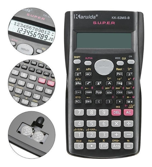 Calculadora Karuida Hesap Makinesi 82ms-b Promoção