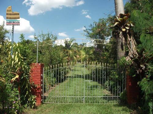 Chácara Com 4 Dormitórios À Venda, 6764 M² Por R$ 550.000 - Campina De Monte Alegre - Campina Do Monte Alegre/sp - Ch0042