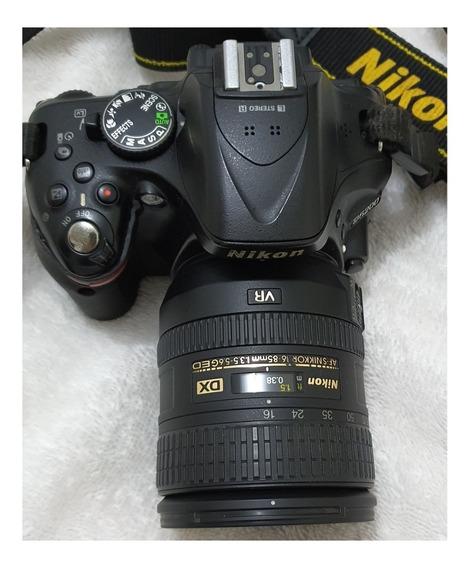 Nikon D5200 + Lente 16-85 Nikon