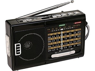 Qfx R-39 Am Fm Sw 10 Band Radio With Flashlight