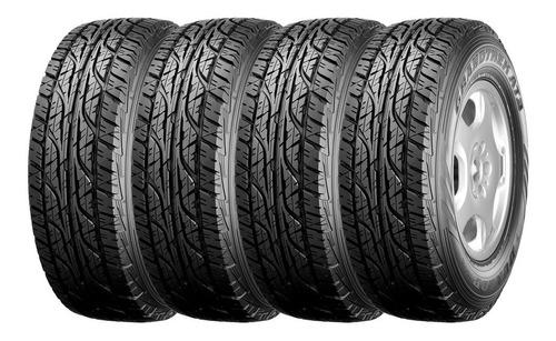 Kit 4 Neumáticos Dunlop 245 70 R16 At3 Vw Amarok Ford Ranger
