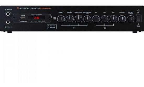 Amplificador 200w Com Bluetooth Versatil Pro-2000 Preto Hay