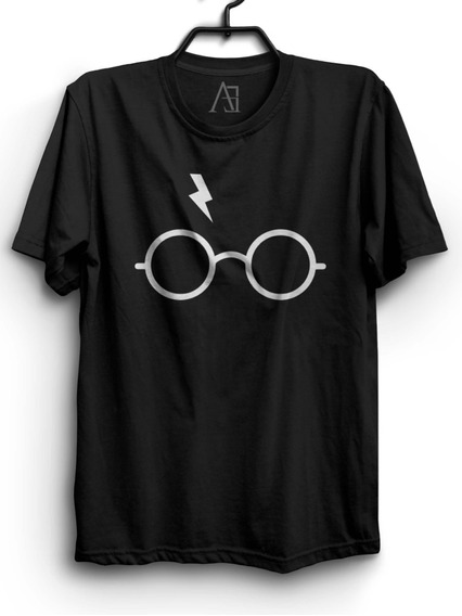 Camiseta Harry Potter Camisa Nerd Geek Filme