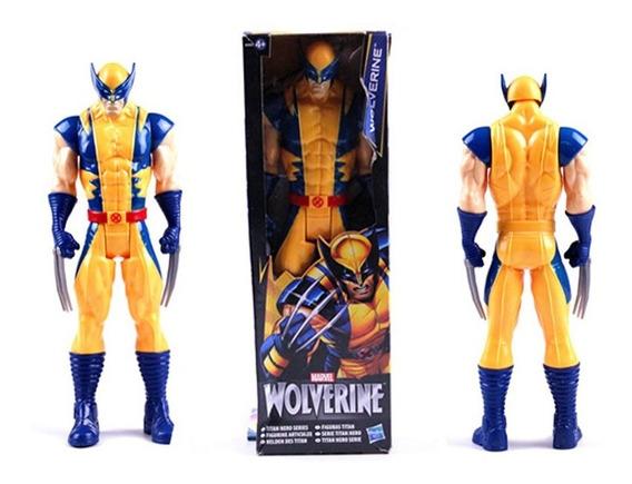 Boneco Wolverine X-men Marvel 30 Cm Promoção Envio Imediato