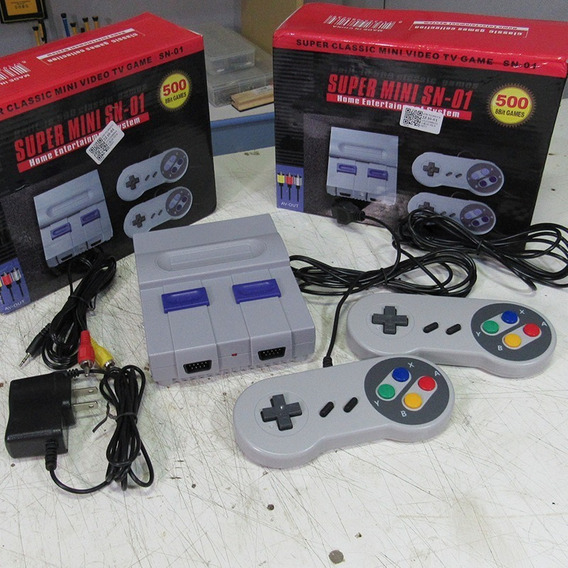 Mini Super Nintendo (o Melhor)