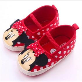 Tênis Bebe Mickey Minnie Minie Sapatinho Bebê Menino Menina