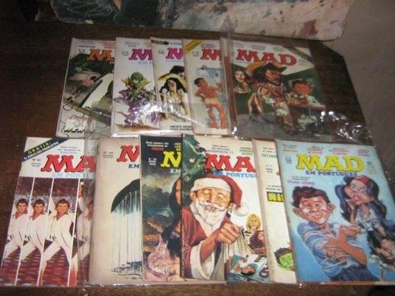 Revista Mad Lote C/ 11 Revistas Vecchi Ano 1977 Originais
