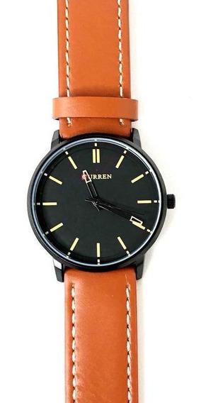 Relógio Masculino Analógico 8233 Preto Curren