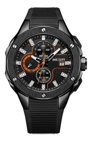 Relógio Masculino Megir, Luxo, Esportivo