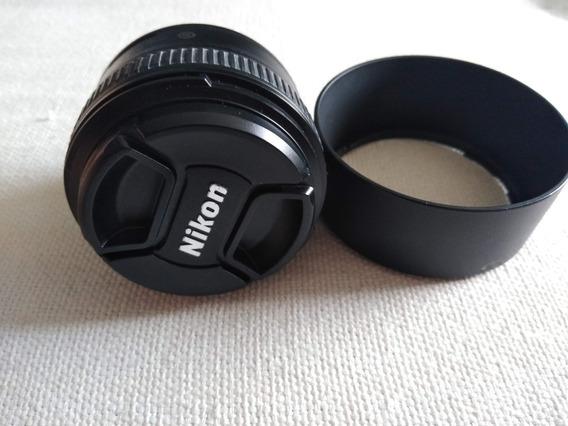 Lente Nikon 50mm F\1.8 G