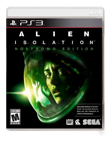 Alien Isolation Nostromo Edition Ps3 Fisico Sellado Original