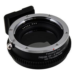 Adaptador Canon Ef C/ Filtro Nd2 - Nd8 Embutido P/ Sony Nex