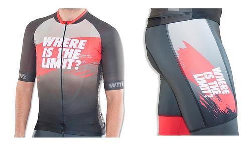 Conjunto Ciclista Where Is The Limit? Team - Josef Ajram