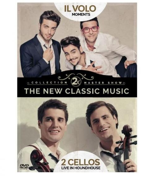 Dvd 2 X The New Classic Music - Il Volo, 2 Cellos