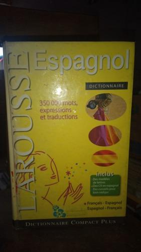 Imagen 1 de 1 de Dictionnaire Francais-espagnol, Espagnol-francais. Larousse