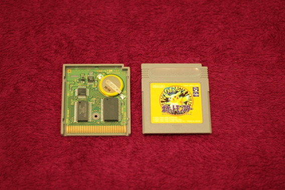 Pokemon Yellow Original Japones Nintendo Game Boy Gba Gbc