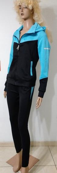 Conjunto Deportivo Supplex Combinado Dama Campera Y Pantalón