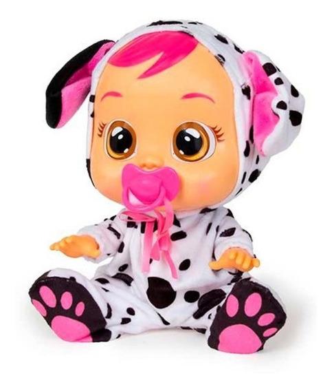 Muñeca Cry Babies Lala Coney Con Sonido Juguete Niña