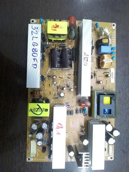 Placa Fonte Lg 32lg80fd / Eay5155150 C/ Garantia .