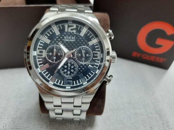 Relógio Guess 330ft Prata Com Pulseira Em Aço Inoxidável