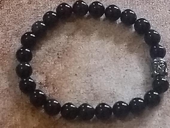 Pulseira Obsidiana Negra 18cm