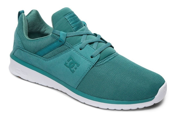 Zapatillas Dc Shoes Mod Heathrow Verde! Coleccion 2019!