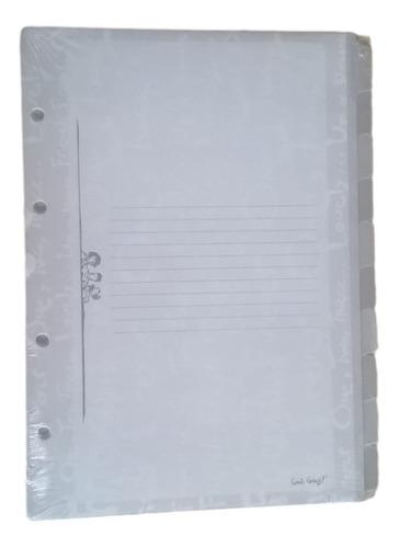 Divisória Caderno Fichário Ótima - Gang