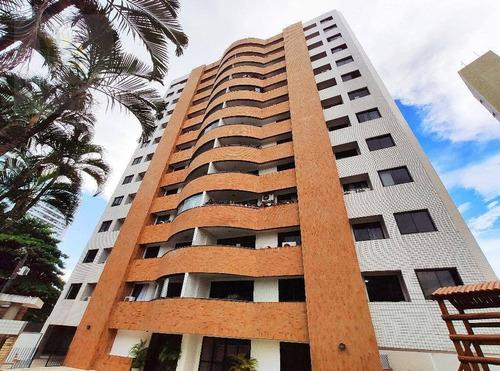 Imagem 1 de 17 de Apartamento Com 3 Dormitórios À Venda, 153 M² Por R$ 560.000,00 - Aldeota - Fortaleza/ce - Ap0725