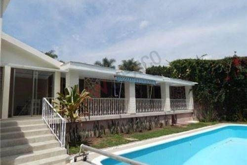 Casa En Renta, Cuernavaca, Morelos Rancho Cortes