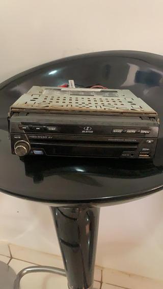 Dvd Player Automotivo H Buster Hbd 9550 Av (c/defeito)