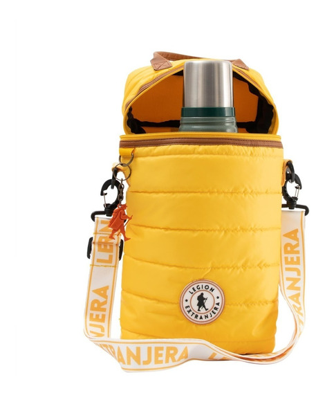 Mochila Matera Diamond Jazz Amarillo Legion Extranjera